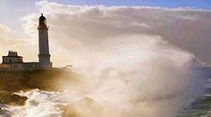 Capo spartivento lighthouse Sardinia island