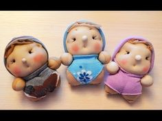 Adorable dolls from socks and pantihose - toys with upcycling Mouse Crafts, Sock Crafts, Felt Crafts, Sock Dolls, Baby Dolls, Doll Videos, Cute Sewing Projects, Creative Arts And Crafts, Easter Crafts For Kids