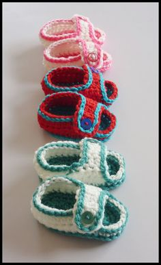 Mamma That Makes: Simple Sandals - Free Crochet Pattern
