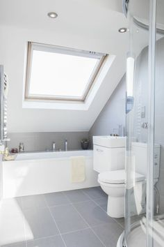 Small bathroom remodeling 455426581062176795 - Salle de bain sous le toit Source by Interior, Small Attic Bathroom, Remodel, Bathroom Layout, House Interior, Renovations, Bathroom Design, Bathroom Decor, Shower Design