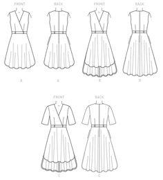 Pattern Reviews> Butterick> 6204 (Misses' Dress)