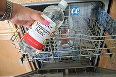 Verser vinaigre blanc dans lave-vaisselle
