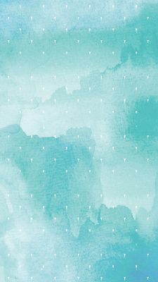 teal blue watercolor pattern iphone 6s wallpaper