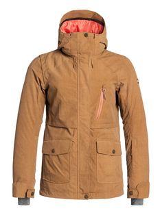 roxy, Tribe -  Snowboard Jacket with Biotherm, Anthracite (kvj0)