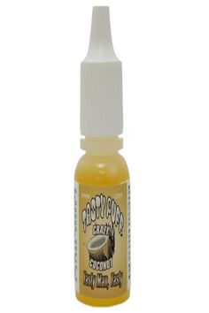 Crazy Coconut  #Crazy Coconut is #creamy and dreamy, so #tropical. ¼ ounce dropper bottle containing apx. 400 drops of unsweetened, concentrated #flavor per bottle (white caps). A few drops can be added to any #cigar,# pipe #tobacco, #shisha, water pipe water, etc.  It does not contain any# nicotine; it is concentrated, unsweetened flavoring only.