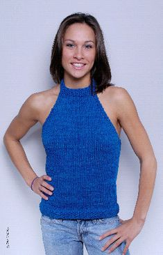 Ravelry: Cabled Halter Top pattern by Norah Gaughan