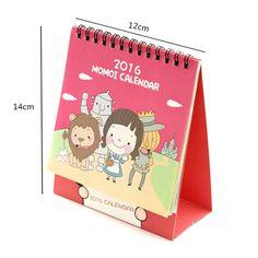 standup desk calendar