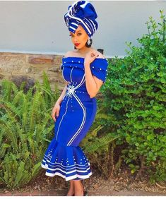 TRADITIONAL XHOSA ATTIRES,The most interesting thing about fashion is how you can make the most casual outfit look splendid and fitting for all occasions Xhosa Attire, African Attire, African Wear, African Style, African Fashion Ankara, African Print Dresses, African Dress, African Traditional Wear, Dress Attire