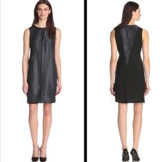 Calvin Klein Texture Front Mock V Shift Dress Here is something new from Calvin Klein Jeans. You'll look astonishing in Calvin Klein Jeans Women's Texture Front Mock V Shift Dress, Black, Medium. Texture Front Mock V Shift Dress, Black, Medium.   DB-1 Calvin Klein Dresses