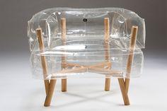 inflatable chair by Tehila Guy