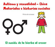 "Autismo y sexualidad - CHICA de ""Visual aids for learning"""