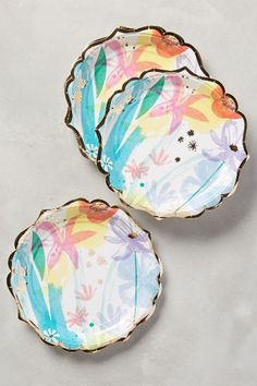 Spring Bouquet Plates - anthropologie.com