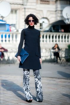 Yasmin Sewell, via Street Style Aesthetic.