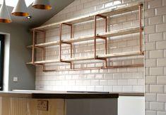 Home   STEEL ROOTS DESIGN Shop Fittings, Diy Home Repair, Bespoke Furniture, Shop Interiors, Roots, Shelves, Steel, Kitchen, Design