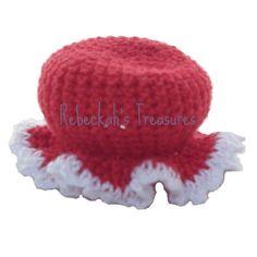 d3440a6697ed9 Crochet Mrs. Barbie Claus  Hat by Rebeckah s Treasures Mrs Claus
