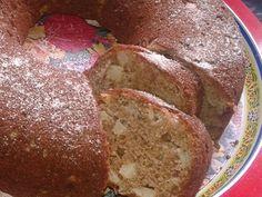 Imagem da receita Bolo de maçã de liquidificador - o melhor do mundo