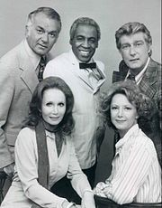 Soap  Loved this series, with its slapstick type humour and quirky characters. Robert Guillaime as Benson, was a brilliant foil for all the other family members, and deserved the success, and follow on series named simply Benson