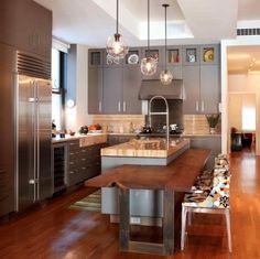 Hoje o post é especial sobre Cozinhas, vamos dar algumas dicas que você deve se atentar na hora de projetar sua cozinha.Para começar alguns parâmetros básicos: - a altura usual para a bancada da p...
