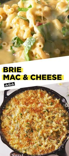 Feeling Decadent? This Brie Mac & Cheese Is Just The ThingDelish