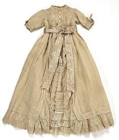 Victorian child's christening coat.