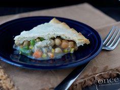 Chickpea Pot Pie - Dinner #oamc #freezermeals #vegetarian