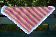 Rainbow Dash Blanket - Free Pattern