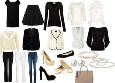 "french capsule wardrobe | the french capsule wardrobe"" by tullewhimsy on ... 