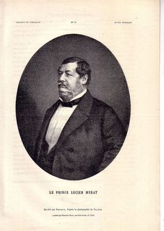 Lucien Murat Joachim Murat prince de Pontecorvo Caroline Bonaparte Napoléon 1862