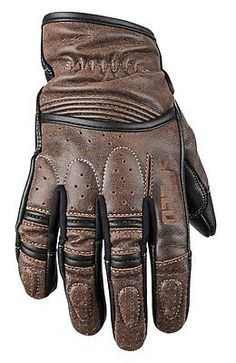 Speed and Strength Rust and Redemption Gloves - RevZilla <br> The Rust and Redemption Gloves may look like garden gloves but they are all business when it comes to riding. Vintage cut and comfort.