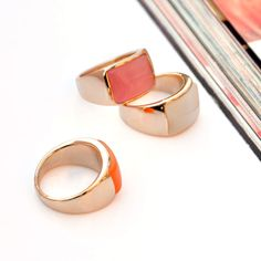 Gold Plated Wide Opal Band Ring wholesale