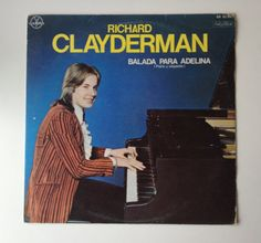 Richard Clayderman - Balada Para Adelina LP Vinyl Record Album, Gamma - GX 01-997, Classical, Mexico, 1977, Original Pressing