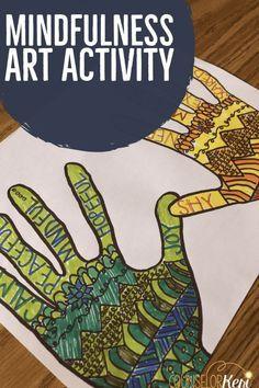 Mindfulness Art Activity: I am Here