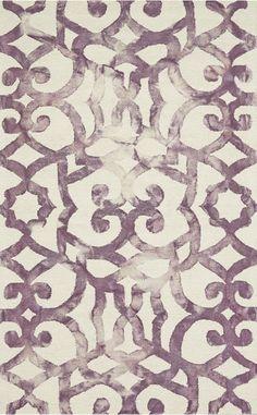 feizy rug in violet