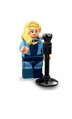 Lego 71020 Batman Movie Series 2 Open Blind bag Black Canary minifigure NEW Minifigura Lego, Superman, Lego Batman Movie, Legos, Black Canary, Lego Film, Batman Film, La Grande Aventure Lego, Lego Dc Comics