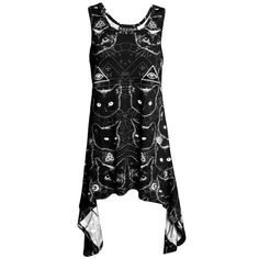 KILLSTAR Black Cats Racerback Dress I really don't want to sell this.  I love killstar.  It doesn't look good on me though so I should.  It's too big.  RARE sold out, you can't find this anymore.  NWOT- No tags.  Never been worn or washed.  I'm still debating on selling this.  Just listing to see if anyone is in desperate need of this. KILLSTAR Dresses