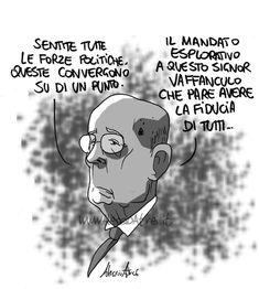 ITALIAN COMICS - Proiezione dopo elezioni: incarico esplorativo ai grillini, con ritorno alle origini…