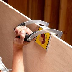 Moving 4 x 8 sheets of plywood or drywall by yourself is no fun, and it's uncanny how your neighbor can never be found until right after your truck is completely unloaded. Unlike your neighbor, the Gorilla Gripper makes moving sheet goods a heck of a lot easier. And unlike other products on the market, the Gorilla Gripper grabs from the top, so you don't have to bend over to slide it underneath the material you're trying to lift. Check out the video at gorillagripper.com.