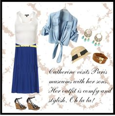 """""""Comfortable & Stylish Outfit in Paris"""" by cbslifestylist on Polyvore"""