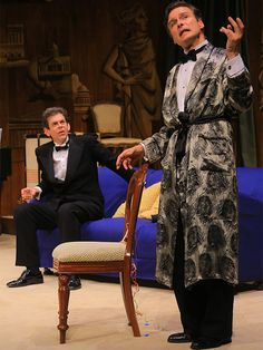 Noel Coward's Present Laughter in rep at Pitlochry Festival Theatre, 2013