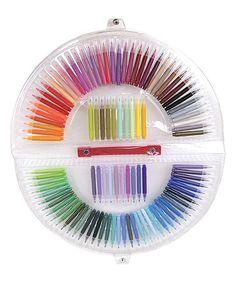 Loving this Mini Rainbow Marker 100-Piece Set on #zulily! #zulilyfinds