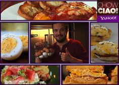 Celebrate National Egg Month with Chow Ciao with @Fabio Viviani and these egg-cellent recipes!    Clockwise from top:   P!$$ED OFF EGGS: http://yhoo.it/REBXVt  EGGS BENEDICT: http://yhoo.it/ShzJro  LATE-NIGHT SANDWICH: http://yhoo.it/SCOUeJ   FRITTATA: http://yhoo.it/Z1QGKv  PERFECT HARD-BOILED: http://yhoo.it/Z1QGKv