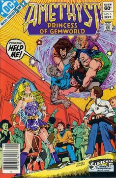 Cover for Amethyst, Princess of Gemworld (DC, 1983 series) #5 [Direct]