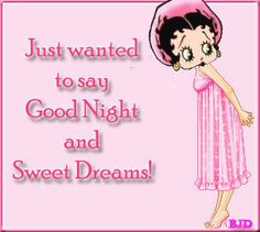 Betty Boop Good Night Images | Betty Boop Good Night