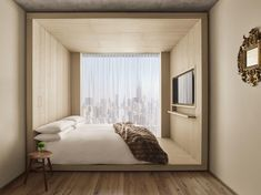PUBLIC, an Ian Schrager hotel, New York, Camera, 1 letto king, vista (Great View), Vista della camera
