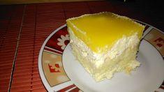 Tvarohový krém, na vrchu pomerančové sklo .... mňamka! Autor: agenz