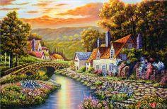"Jigsaw Puzzles 1000 Pieces ""Beautiful Sunset""   eBay"