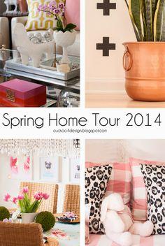 gorgeous fresh and modern Spring home tour