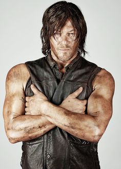 reedusnorman-deactivated2015070: Norman Reedus as Daryl Dixon | The Walking Dead Entertainment Weekly Portraits | 1/5