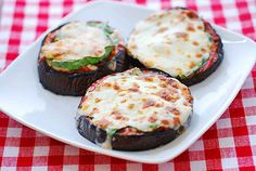 Eggplant Pizza Recipe | Healthy Recipes