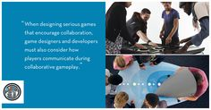 Collaboration and Co-operation in Games - Formula D interactive